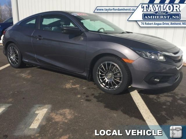 2016 Honda Civic Coupe EX-T  - Local - One owner - $69.17 /Wk
