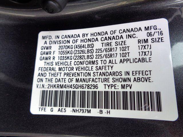 2016 Honda CR-V SE