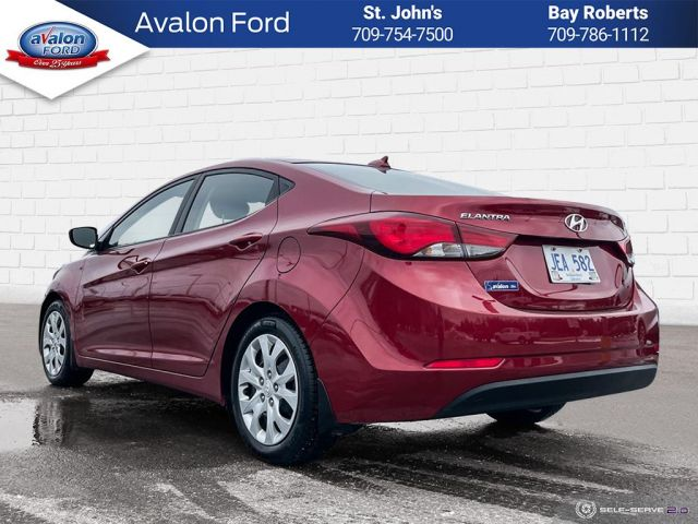 2016 Hyundai Elantra Sedan GLS - at
