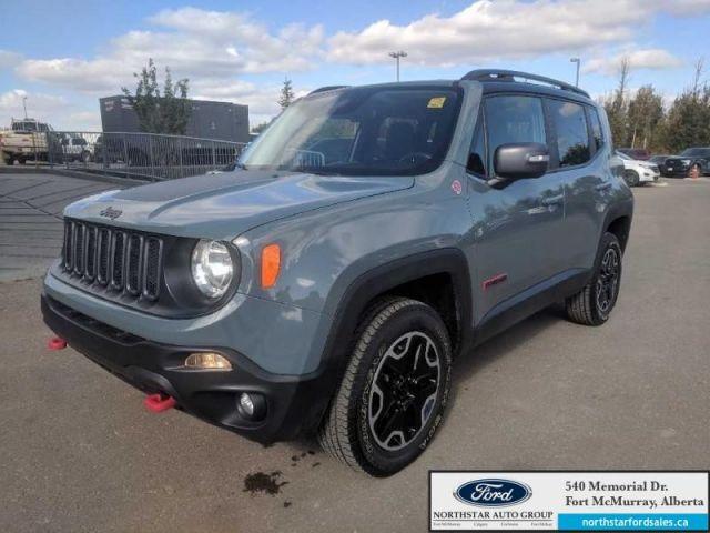 2016 Jeep Renegade Trailhawk|2.4L|Rem Start|Customer Preferred Pkg|Back-up Camera