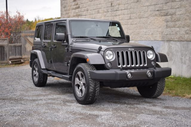 2016 Jeep Wrangler Unlimited Sahara  -  A/C
