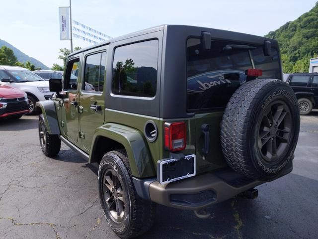 2016 Jeep Wrangler Unlimited 4WD 4dr 75th Anniversary