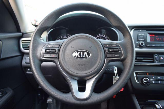 2016 Kia Optima LX  | STEERING WHEEL AUDIO CONTROLS |
