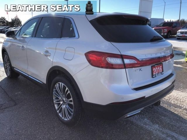 2016 Lincoln MKX Reserve  - Leather Seats -  Cooled Seats - $254.06 B/W
