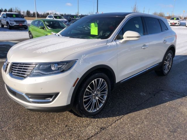 2016 Lincoln MKX Reserve  - Leather Seats -  Cooled Seats - $241.03 B/W