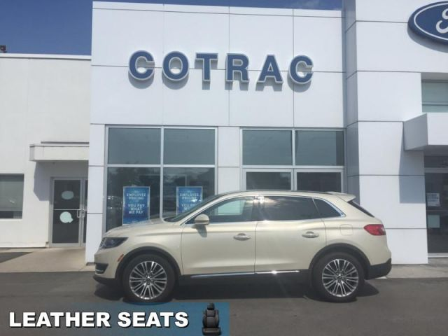 2016 Lincoln MKX Reserve  - Navigation -  Leather Seats - $226 B/W