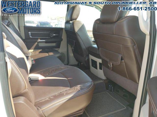 2016 Ram 1500 Laramie Longhorn  - Navigation -  Leather Seats