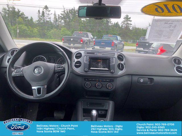 2016 Volkswagen Tiguan Comfortline