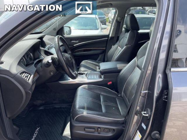 2017 Acura MDX Elite 6 Passenger    6 Passenger Seating, Leather Interior, sunr