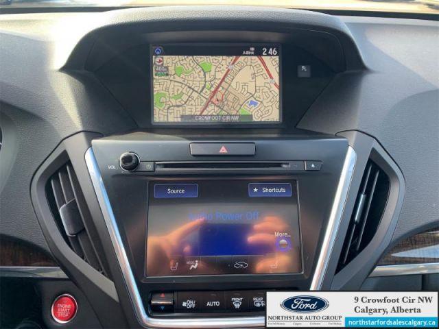 2017 Acura MDX Navigation   LEATHER  NAV  SUNROOF  LANE KEEPING  6 SEATER  - $2