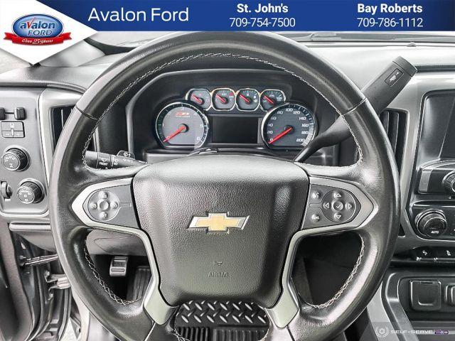 2017 Chevrolet Silverado 1500 Double 4x4 LT / Standard Box