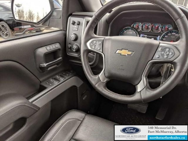 2017 Chevrolet Silverado 1500 LTZ  |5.3L|Rem Start|Moonroof|Nav|Canopy