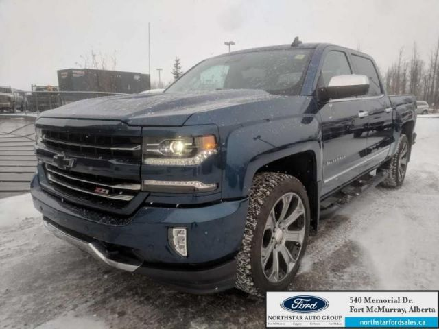2017 Chevrolet Silverado 1500 LTZ|6.2L|Rem Start|Nav|Moonroof