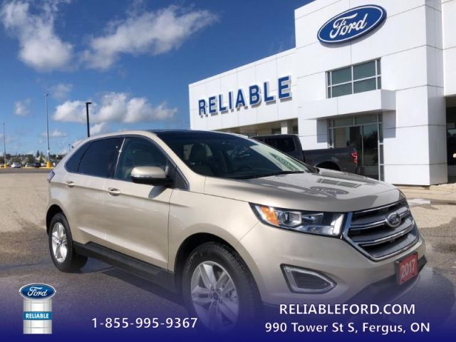 2017 Ford Edge SEL   - Leather Interior- Panoramic Sunroof- Navigation-Remote S