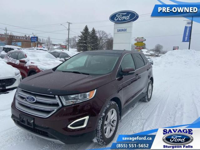 2017 Ford Edge SEL  - One owner - Power Liftgate - $180 B/W