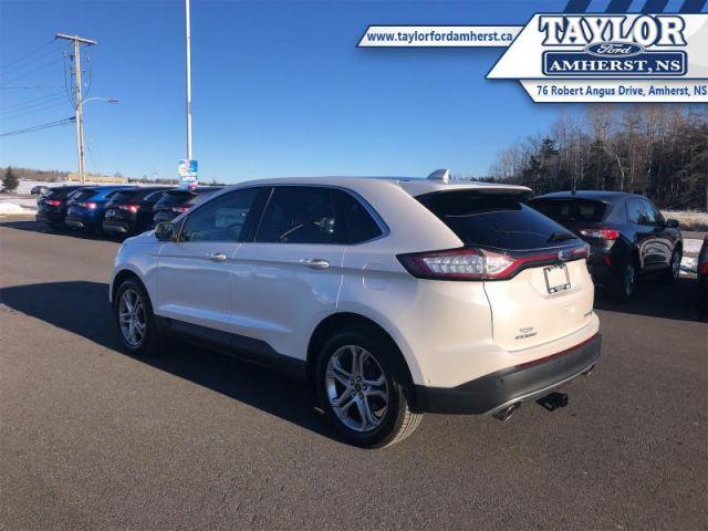 2017 Ford Edge Titanium  - Leather Seats -  Bluetooth - $88.61 /Wk