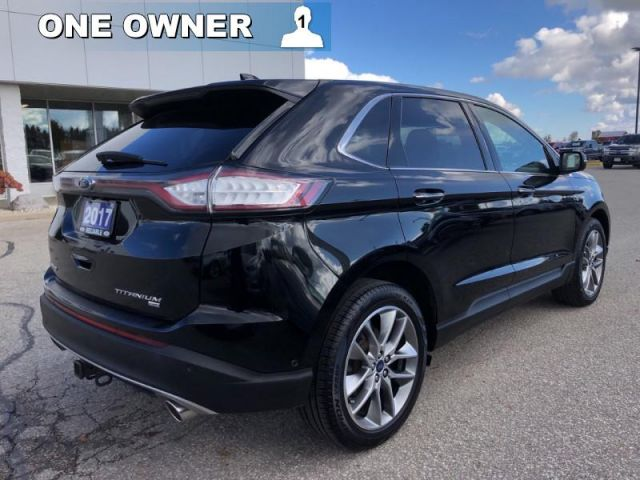 2017 Ford Edge Titanium   - Heated Leather Seats -  Bluetooth-Remote Start-Pano