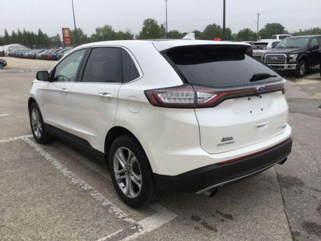 2017 Ford Edge Titanium  - Leather Seats -  Bluetooth