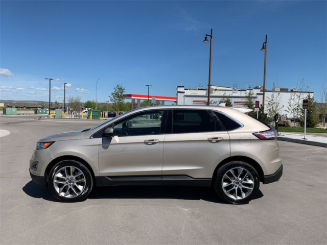 2017 Ford Edge Titanium   - LOADED TITANIUM - $195 B/W