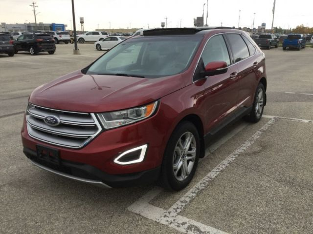 2017 Ford Edge Titanium  - Leather Seats -  Bluetooth