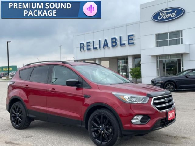 2017 Ford Escape SE   SE Appearance Package- Navigation- Heated Seats- Back Up Ca