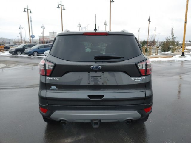 2017 Ford Escape Titanium  |1.9% CPO UP TO 60 MONTHS|LEATHER|ROOF|NAVI  $169 B/W