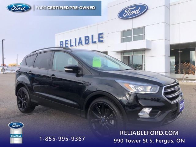 2017 Ford Escape Titanium  CPO Vehicle, 1.9% Financing up to 60 months OAC - Low