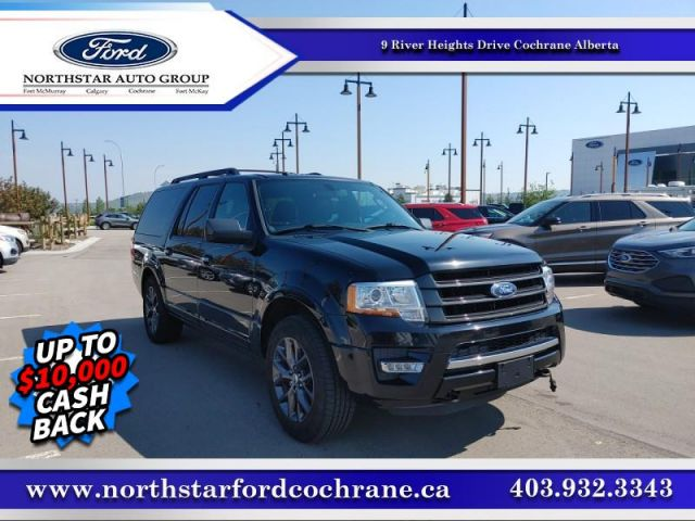 2017 Ford Expedition Max Limited  LTD MAX - STEALTH PACKAGE