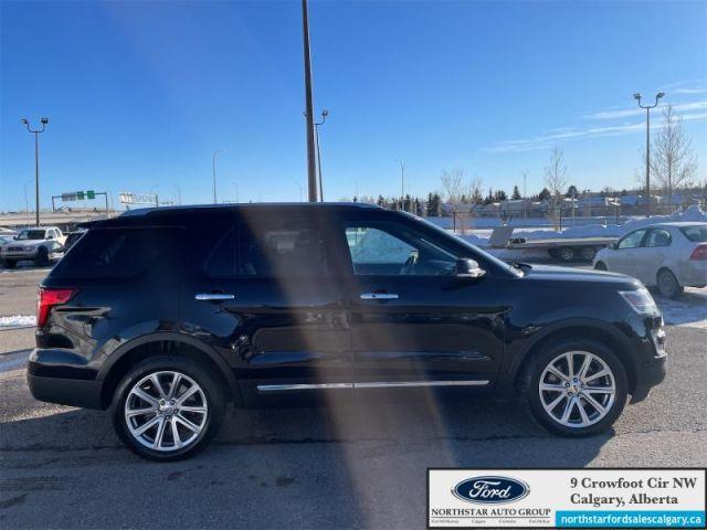 2017 Ford Explorer Limited  |V6| MOONROOF| TOW PKG| BLIS|  - $237 B/W