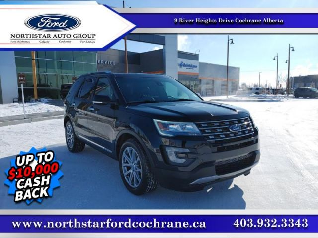 2017 Ford Explorer Limited  - $248 B/W - Low Mileage