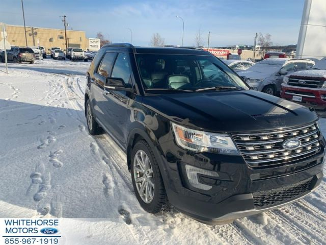 2017 Ford Explorer Limited  - $222 B/W