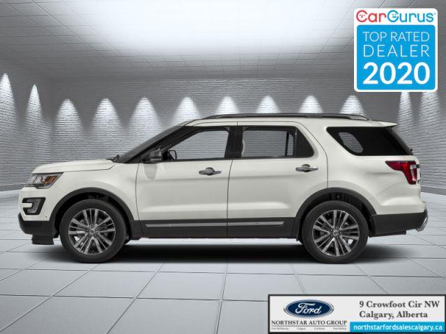 2017 Ford Explorer Platinum  |NAV| REAR DVD| 6 SEATER| PLATINUM| - $251 B/W