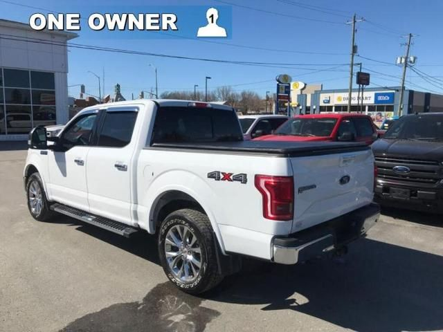 2017 Ford F-150 LARIAT-ONE OWNER-TRADE-IN-291 B/W