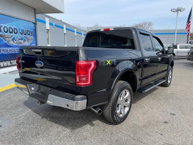 2017 Ford F-150 Lariat 4WD SuperCrew 5.5 Box