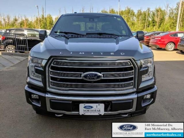 2017 Ford F-150 Limited  |3.5L|Nav|Twin Panel Moonroof|Massage Seats|Low Mileage