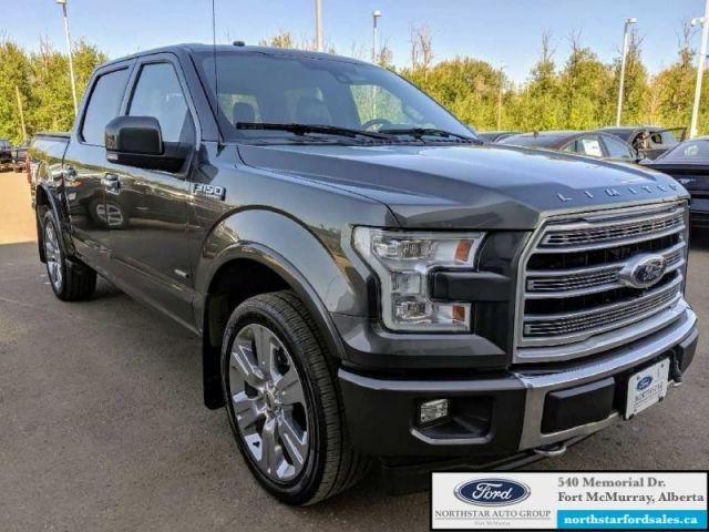 2017 Ford F-150 Limited  |3.5L|Nav|Twin Panel Moonroof|Massage Seats|Low Mileage