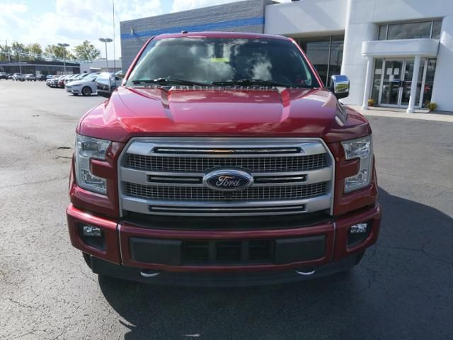 2017 Ford F-150 Platinum 4WD SuperCrew 5.5 Box