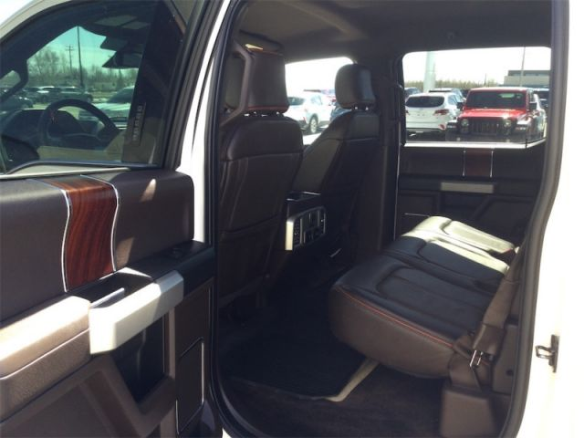 2017 Ford F-150 King Ranch  - Navigation -  Leather Seats