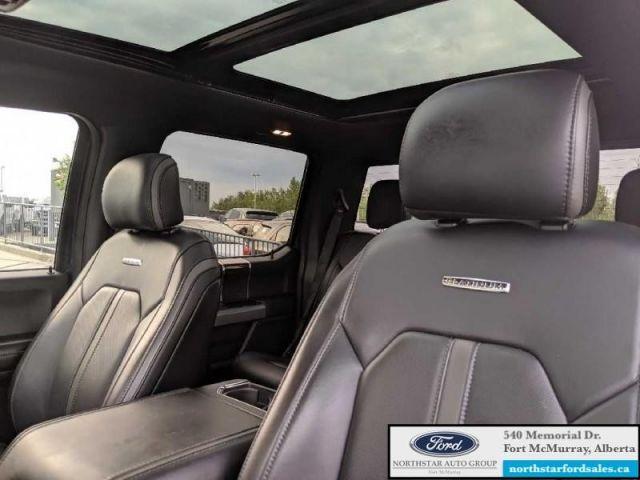 2017 Ford F-150 Platinum  |3.5L|Rem Start|Nav|Twin Panel Moonroof|Tech Pkg
