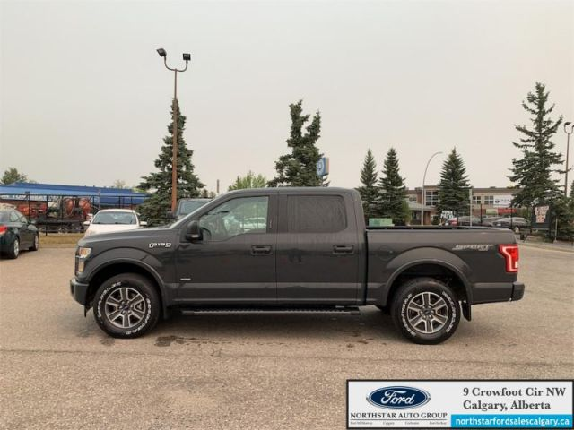 2017 Ford F-150 XLT   XLT SPORT  ECOBOOST  CREW CAB  LOW KMS 