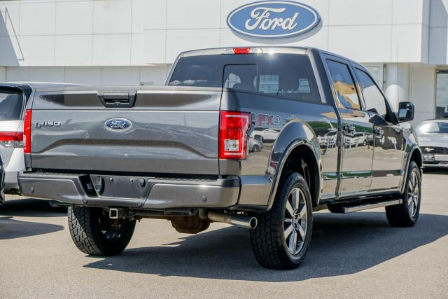 2017 Ford F-150 4WD SuperCrew 157 XLT