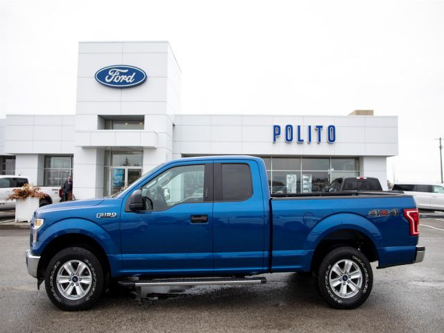 2017 Ford F-150 SuperCab 4WD