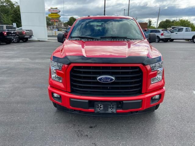 2017 Ford F-150 XL-ONE OWNER-LOCAL-TRADE-IN-254 B/W