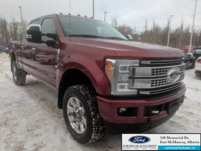 2017 Ford F-350 Super Duty Platinum  |6.7L|Platinum Ultimate Pkg|FX4 Offroad Pkg