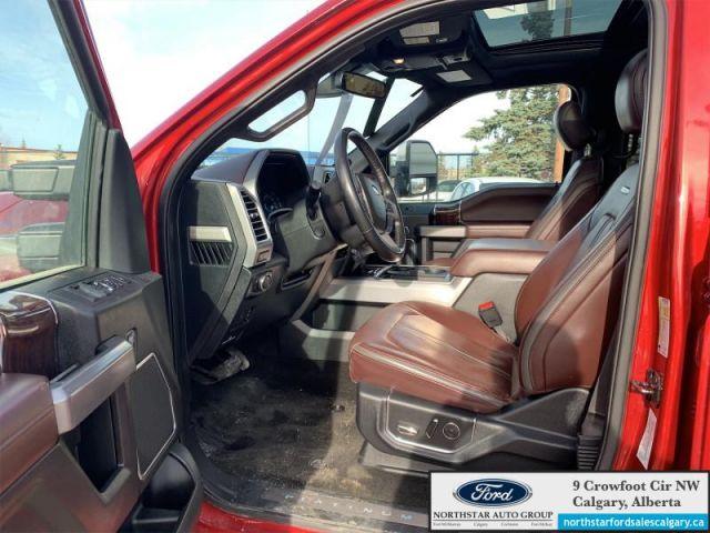 2017 Ford F-350 Super Duty Platinum   PLATINUM ULTIMATE PKG  DIESEL  NAV MOONROOF SHORT BOX