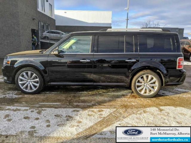 2017 Ford Flex Limited AWD  |3.5L|Rem Start|Nav|Multi-Panel Vista Roof
