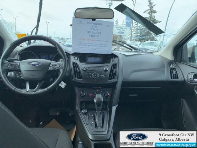 2017 Ford Focus SE Sedan   SEDAN  AUTOMATIC  HEATED SEATS  HEATED STEERING WHEEL