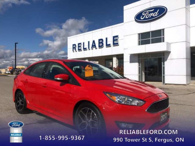2017 Ford Focus SE   -SE Sport Package- Heated Seats- Heated Steering Wheel-Remo