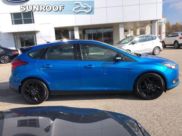 2017 Ford Focus SEL   SEL Plus Black Pack- Sunroof - Navigation-Heated Seats- Bl