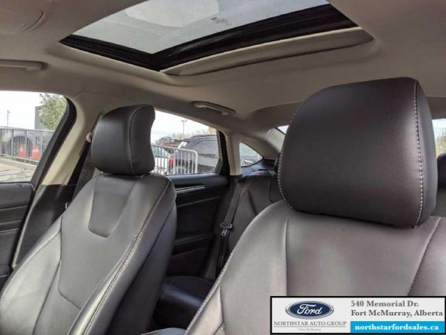 2017 Ford Fusion Titanium   2.0L Rem Start Nav Moonroof Certified Pre-Owned Low M